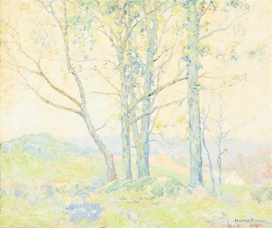 landscape by maurice braun