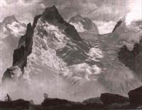 hochgebirgslandschaft by bernhard falkner