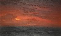 ciel rougeoyant by gaston geleyn