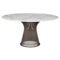 dining table, designed by warren platner