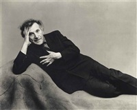 marc chagall, 1947 by irving penn