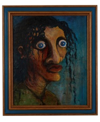 portrait of mabebe by george condo