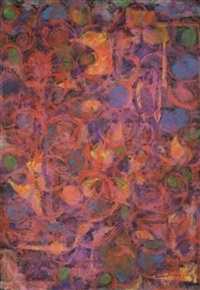 sans titre (abstraction) by beauford delaney