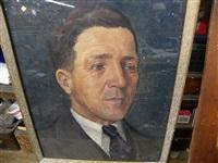 portrait de mon père by fleurimond constantineau