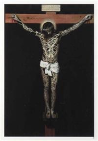 projet tatouage, christ by jean-luc moerman