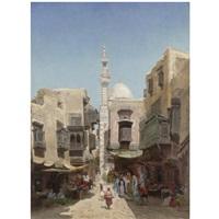 arab market by godefroy de hagemann