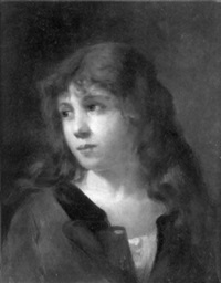 portrait of a child by gaston gerard