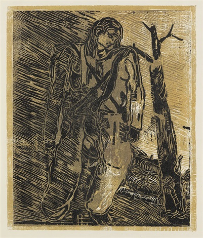 partisan by georg baselitz