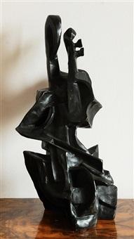 cellista (hráč na cello) by otto gutfreund