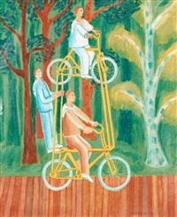 cyklister by mårten andersson