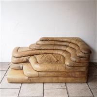 canapé d'angle, modèle terazza ds 1025 by ubald klug