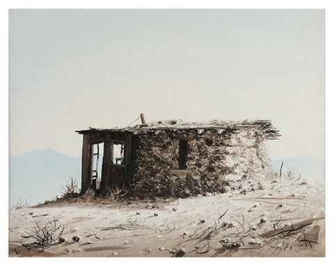 deserted cabin by paul weber