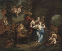bacchus and ariadne by françois lemoyne