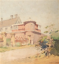 corner turrett by harold brocklebank herbert
