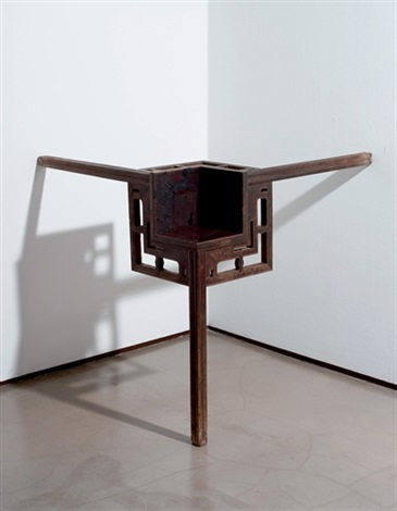 corner table by ai weiwei