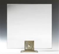 miroir de forme carrée by albert cheuret