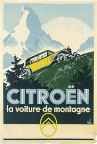 citroën, la voiture de montagne by paul auger