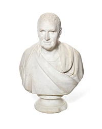 bust of a gentleman by william behnes