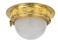 deckenlampe by otto wagner
