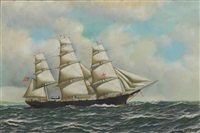 the famous clipper dreadnought by antonio jacobsen