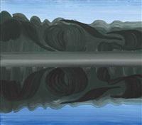 straw smreczynski (pond smreczynski) by wilhelm sasnal