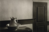 shaker interior, sabbathday lake, maine by george tice