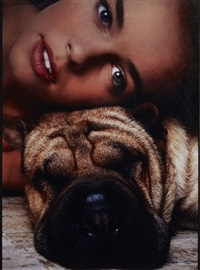 bulldog-fashion by guy bourdin