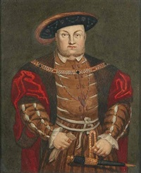 king henry viii (+ cardinal wolsey; 2 works) by george perfect harding