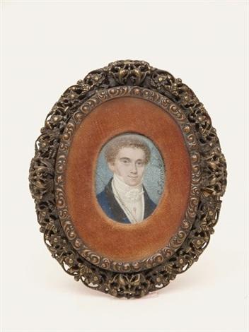 brustbild eines jungen herrn by carl josef alois agricola