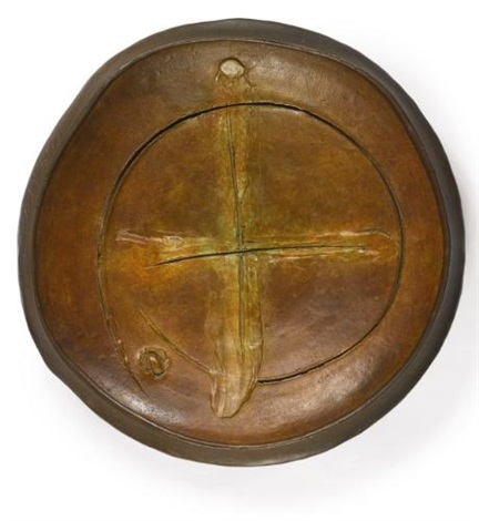 plate by peter voulkos