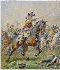 general friedrich wilhelm von seydlitz by louis (ludwig) braun