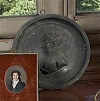 portrait en buste de profil d'un maréchal d'empire by louis-françois jeannest