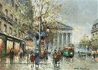 boulevard de la madeleine, paris by antoine blanchard