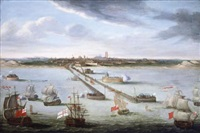 the bombardment of the port of dunkirk by the english fleet by anglo-flemish school (17)