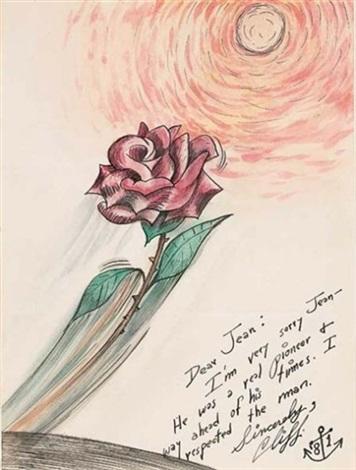 lettre de condoléances adressée à jean après la mort de julien levy by horace clifford westermann