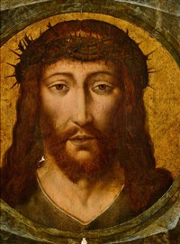 portrait du christ by dieric bouts the elder