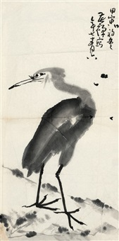 鹭鸶 by li kuchan