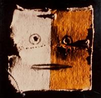 composition primitive masque by christian boltanski