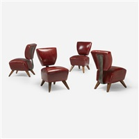 fred's dining chairs (set of 4) by jordan mozer