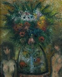bouquet aux poissons rouges by édouard joseph goerg