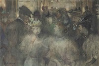 an evening at the scala theatre, the hague by floris arntzenius