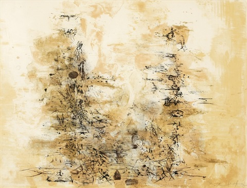 two trees by zao wou ki