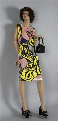 moschino cheapchic by roy lichtenstein