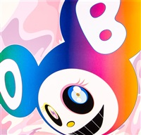 and then rainbow by takashi murakami