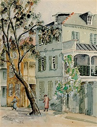 church street, charleston by edith demay smith