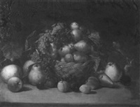 still life with fruit by samuel raymond fanshaw
