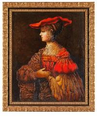 dialog mit rembrandt by vyacheslav mikhailov