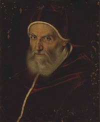 portrait of pope gregory xiii, bust-length by scipione pulzone