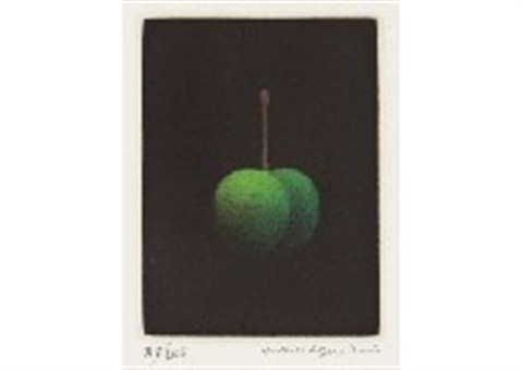 green cherry by yozo hamaguchi
