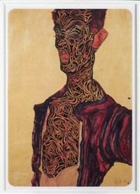 projet tatouage, egon schiele by jean-luc moerman
